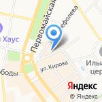 Актуаль на карте Ярославля