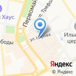 Мир Женщины на карте Ярославля
