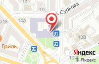 Схема проезда до компании Биноколь в Ярославле