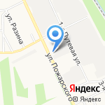 Шульба на карте Ярославля
