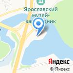 Багира на карте Ярославля