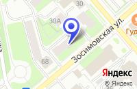 Схема проезда до компании ТУРИСТИЧЕСКАЯ ФИРМА БЛАГО-ТУР в Вологде