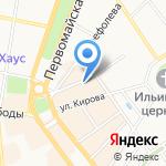 Школа олимпийского резерва г. Ярославля на карте Ярославля