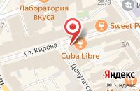 Схема проезда до компании Роскомнадзор в Ярославле