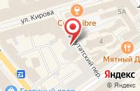 Схема проезда до компании Лен в Ярославле