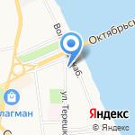 Рыбинскхлебопродукт на карте Ярославля