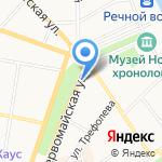 Колибри на карте Ярославля