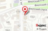 Схема проезда до компании Церемониймейстер в Ярославле
