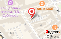 Схема проезда до компании У Штирлица в Ярославле