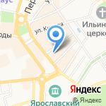 Ларец на карте Ярославля