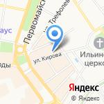Тандем на карте Ярославля