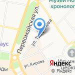 Посольство стиля на карте Ярославля