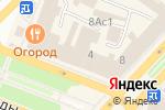 Схема проезда до компании Быть красивой в Вологде