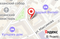 Схема проезда до компании Monaco в Ярославле