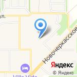 Отделение почтовой связи на карте Рассвета