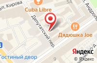 Схема проезда до компании Имеди в Ярославле