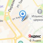 Имеди на карте Ярославля