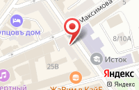 Схема проезда до компании Барин Lounge в Ярославле
