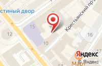 Схема проезда до компании Просто в Ярославле