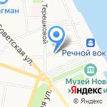 Вода-76 на карте Ярославля