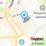 Комитет по управлению муниципальным имуществом Мэрии г. Ярославля на карте Ярославля