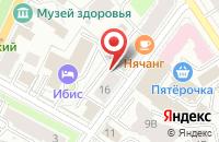 Схема проезда до компании КофеIn в Ярославле