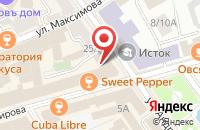 Схема проезда до компании Kinza в Ярославле