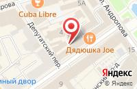 Схема проезда до компании Штолле в Ярославле