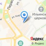 Центральный рынок на карте Ярославля