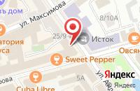 Схема проезда до компании Chelsea в Ярославле