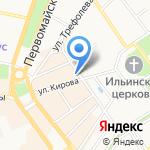 Банк ВТБ 24 на карте Ярославля