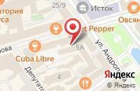 Схема проезда до компании Muchachos Bar в Ярославле