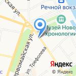 Ярославский городской Дворец пионеров на карте Ярославля