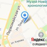 Восхождение на карте Ярославля