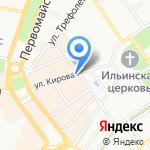 Главное управление МЧС России по Ярославской области на карте Ярославля