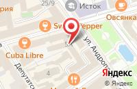Схема проезда до компании Дом актера в Ярославле