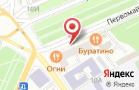 Схема проезда до компании Босфор в Ярославле