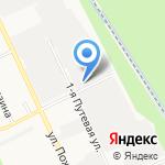 Ярпромцентр на карте Ярославля