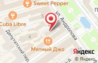 Схема проезда до компании М-Инжиниринг в Ярославле