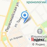 Евгения на карте Ярославля