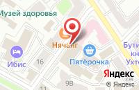 Схема проезда до компании На Советской в Ярославле