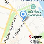 Бэби-клуб на карте Ярославля