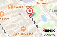 Схема проезда до компании Комитет по рекламе в Ярославле