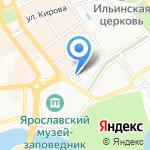 Алеша Попович Двор & Пивоваръ Дядька Черномор на карте Ярославля