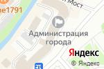 Схема проезда до компании Забота в Вологде