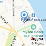 Вираж на карте Ярославля