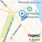 Пинта на карте Ярославля