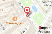 Схема проезда до компании Исток в Ярославле