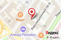 Схема проезда до компании ЯрославльТелесеть в Ярославле