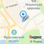 ЯТС-реклама на карте Ярославля